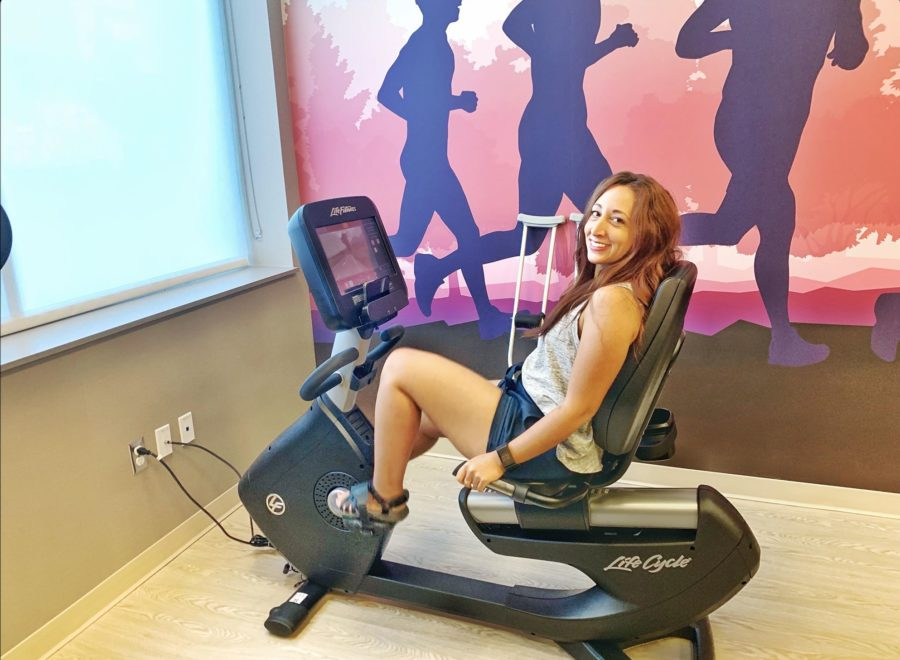 Hyatt Place Niagara Falls Gym- Bike