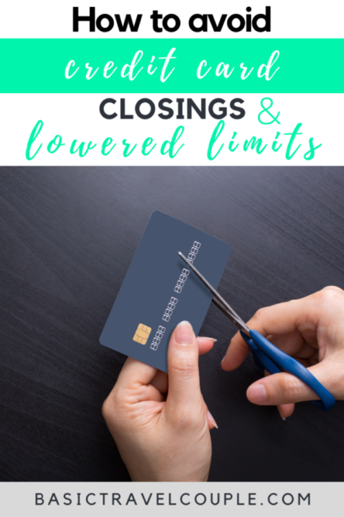 PSA – Don't Give the Banks a Reason to Close Your Card or Reduce your Limit