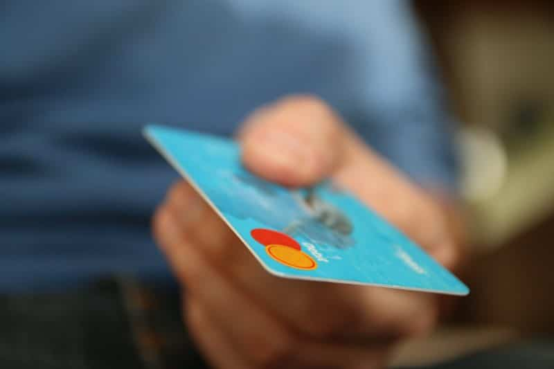 using a credit card to pay