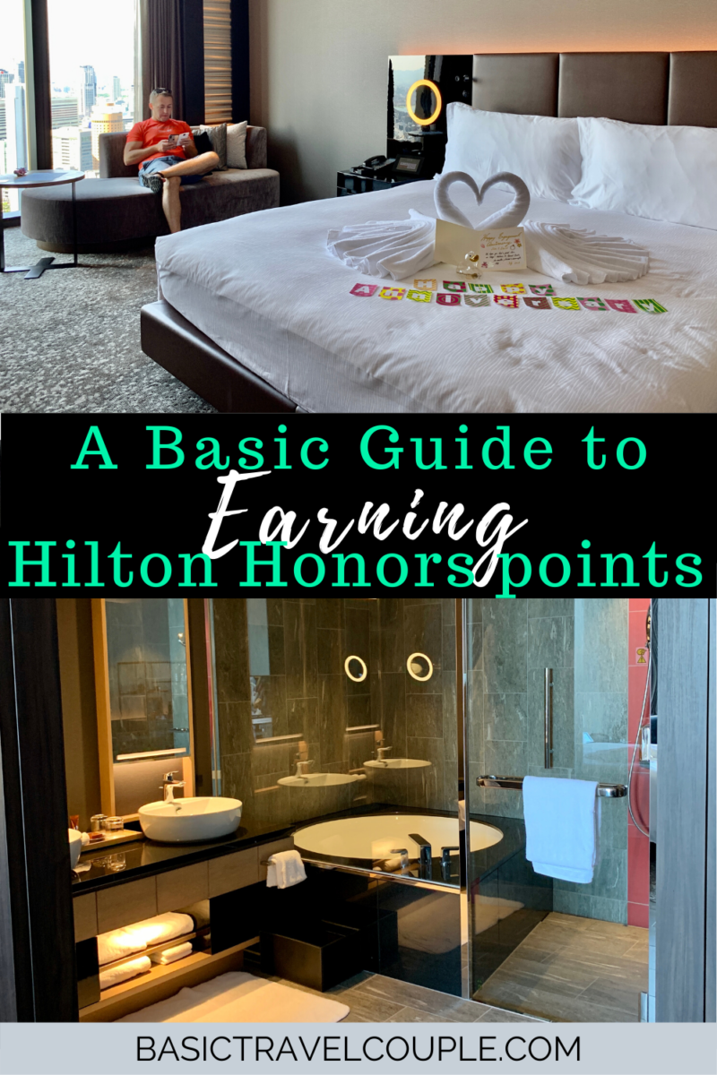 Basic Guide to Earning Hilton Honors Points