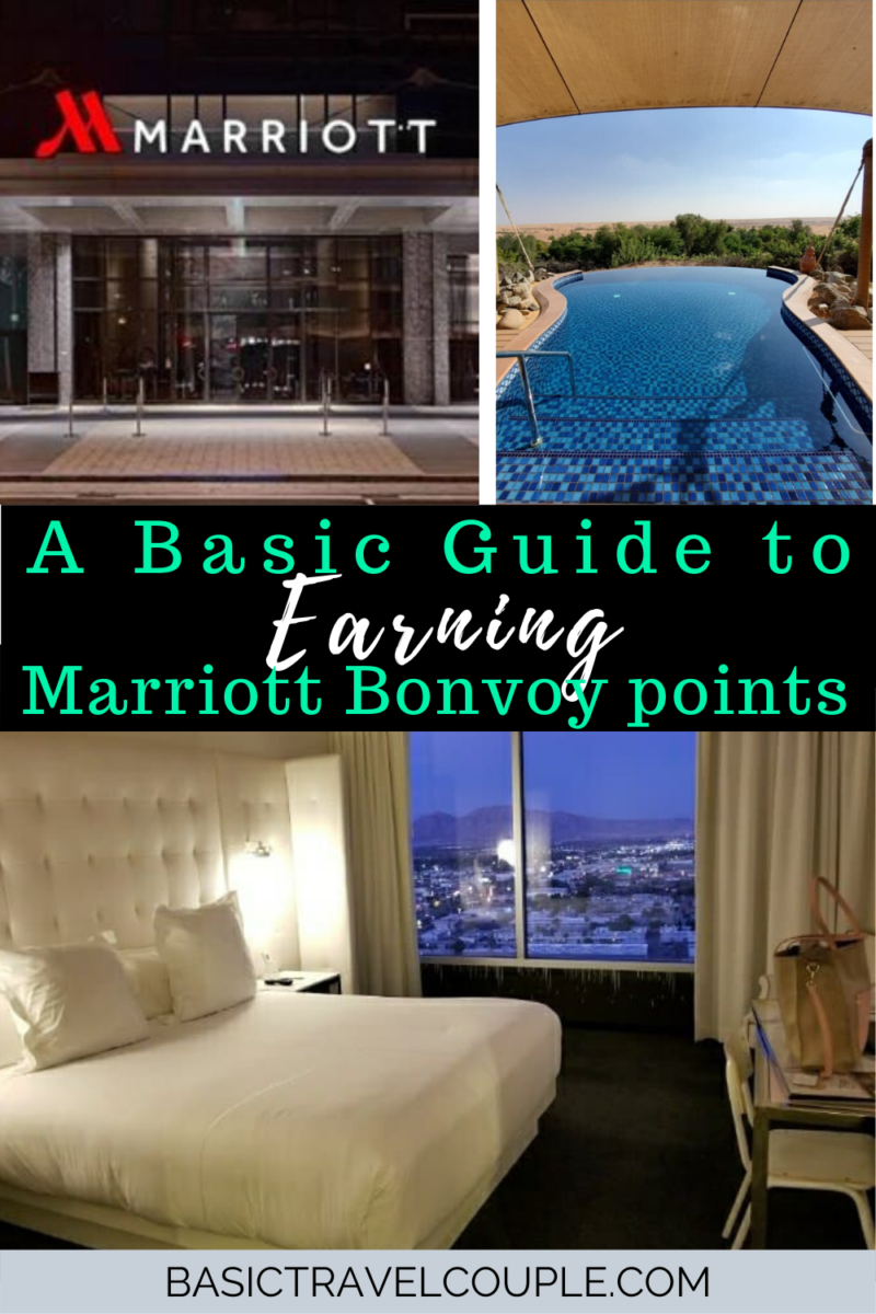 Basic Guide to Earning Marriott Bonvoy Points