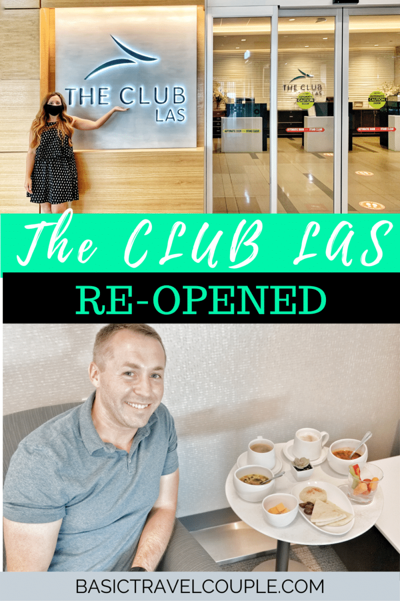 The Club LAS Re-Opened after COVID
