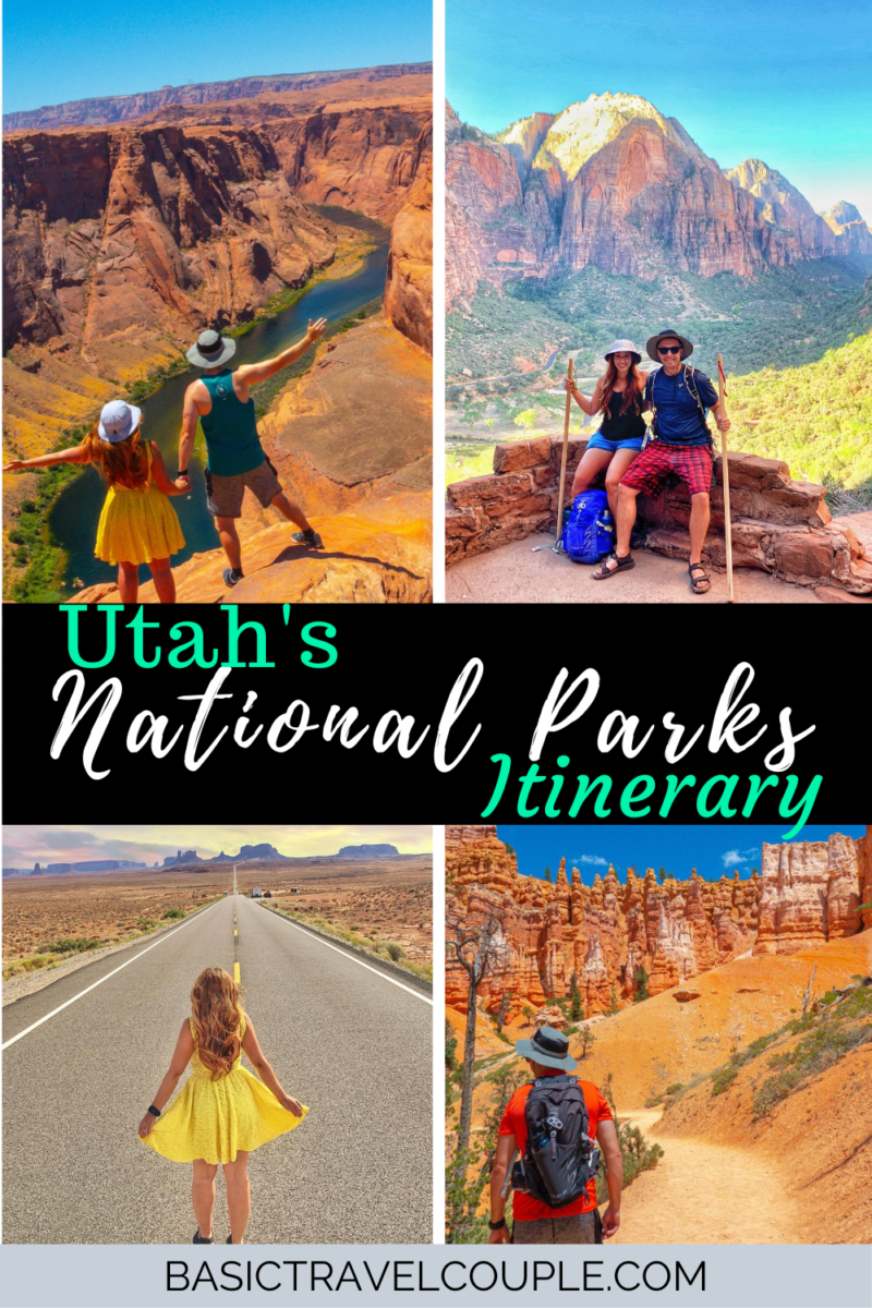 Ultimate Utah State Park Road Trip with Itinerary