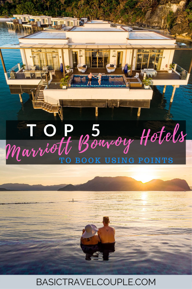 Top 5 Aspirational Marriott Properties in the World for Points Redemptions