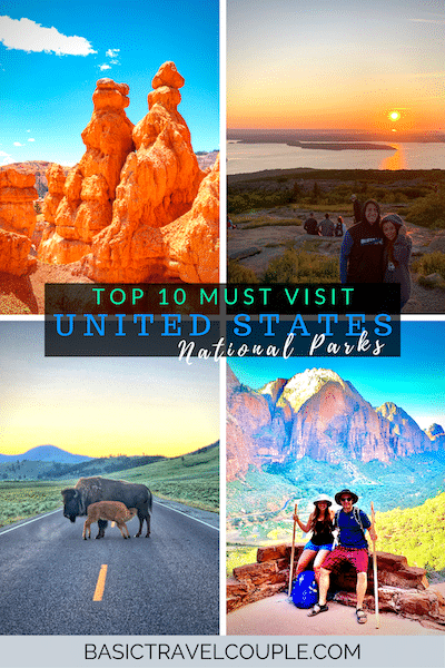 Top 10 National Parks to Visit in the USA
