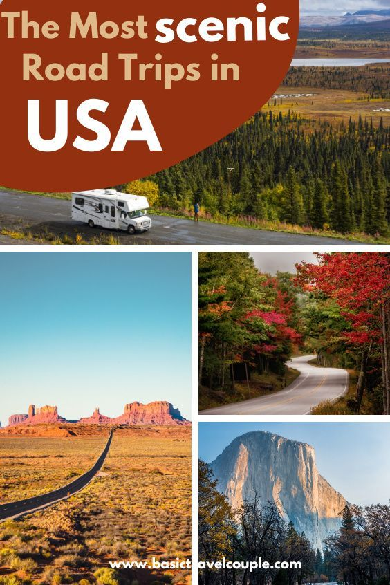 Top 5 Scenic Road Trip Drives in the US