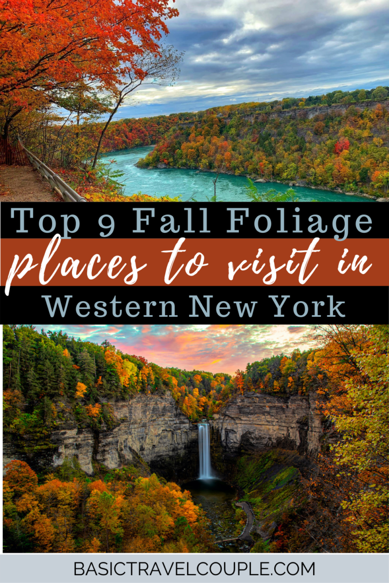 Top 9 Fall Foliage spots in NY plus fall photography tips