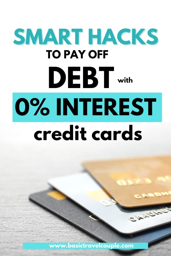How to pay off debt with 0% interest credit cards